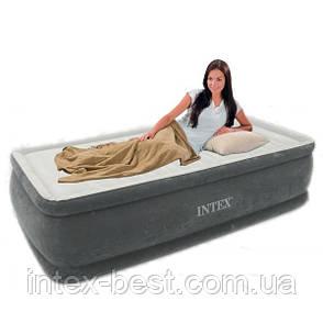 Intex 64412 надувная кровать Comfort Plush Elevated 191x99x46см, фото 2