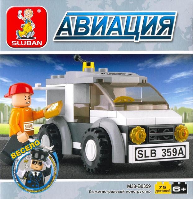 Конструктор серии Авиация Машина экспресс-почты M38-B0359 SLUBAN