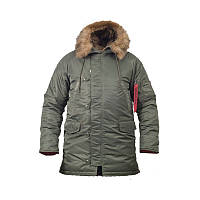 Куртка Chameleon зимняя slim fit Аляска N-3B Olive