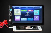 2DIN Авто Магнитола , Пульт на руль, Bluetooth, сенсорный дисплей.