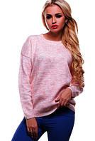 Женский свитер из полушерсти