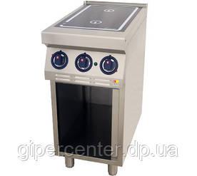 Напольная индукционная плита без духовки Kogast ESI-T27/PB (две конфорки)