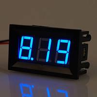 Цифровой вольтметр 4,5 - 30 В DC СИНИЙ