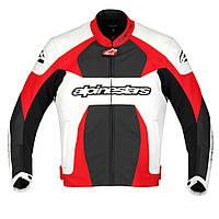 "Куртка Alpinestars GP PLUS white/red/black кожа ""50"", арт. 3100911 231, арт. 3100911 231"