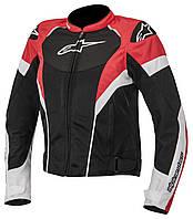 "Куртка Alpinestars STELLA T-GP PLUS R AIR black/white/red текстиль ""M"", арт. 3310614 123"