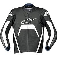"Куртка Alpinestars TECH 1-R кожа black/white ""52"", арт. 310650 12, арт. 310650 12"