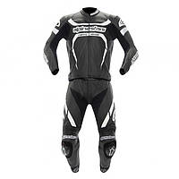 "Комбинезон Alpinestars MOTEGI 2PC black/white кожа ""52"", арт. 3161012 12, арт. 3161012 12"