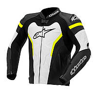 "Куртка Alpinestars GP PRO кожа black\white\yell\fluo ""54"", арт. 3105014 125, арт. 3105014 125"