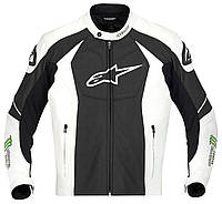 "Куртка Alpinestars GP-M кожа black\white\green ""52"", арт. 3101712 163, арт. 3101712 163"