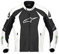 "Куртка Alpinestars GP-M кожа black\white\green ""56"", арт. 3101712 163, арт. 3101712 163"