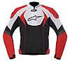 "Куртка Alpinestars T-GP R Air BLACK/RED/WHITE текстиль ""XL"", арт. 3305112 312, арт. 3305112 312"