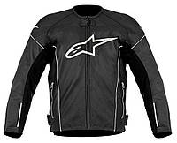 "Куртка Alpinestars TZ-1 RELOAD black/white кожа ""50"", арт. 3107512 12, арт. 3107512 12"