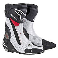 "Обувь Alpinestars S-MX PLUS black/white/red  Vent.""42"", арт. 2221013 128, арт. 2221013 128"