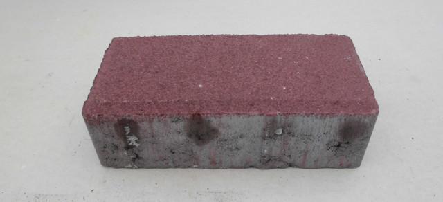 Тротуарная плитка Брусчатка красная