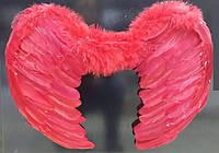 Карнавальный костюм Крылья ангела красные