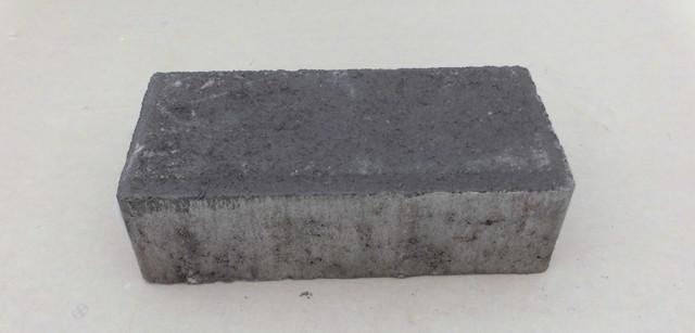 Тротуарная плитка Брусчатка черная