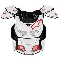 "Сетка защитная Alpinestars A-8 white\red ""S\M"", арт. 6700012 23, арт. 6700012 23"