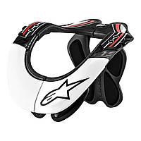 Стабилизатор шлема Alpinestars BNS PRO black\red\white L\XL, арт. 6500114 123