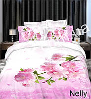Постельная ткань,Постельная ткань Сатин-пано 3D Nelly