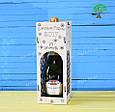 Коробка подарочная для алкоголя, упаковка для бутылки, фото 3