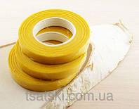 Флористическая лента желтая