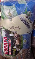 Поликотоновое одеяло без чемодана (наполнитель шерсть), евро размер