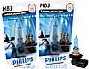 "Автомобильные галогенные лампы ""PHILIPS""(HB3)(Blue Vision Ultra)(4000K)(12V)(60W)"