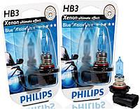 "Автомобильные галогенные лампы ""PHILIPS""(HB3)(Blue Vision Ultra)(4000K)(12V)(60W), фото 1"