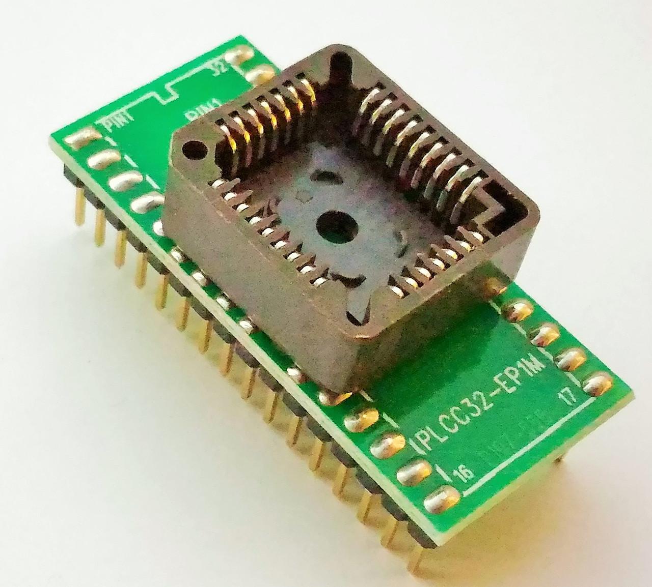 Адаптер (переходник) PLCC32 - DIP32