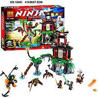 """Конструктор (Ninjago) 70604 ниндзяго """"Остров тигровых вдов"""" аналог Lego лего 448 деталей, фото 1"""