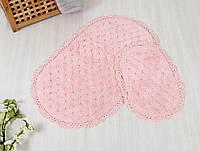 Набор ковриков для ванной Irya - Honey pink розовый 60*100+40*60