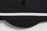 ТЖ 45мм репс (50м) черный+белый , фото 1
