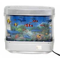 Светильник-ночник Аквариум с рыбками большой