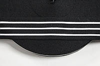 ТЖ 40мм репс (50м) черный+белый , фото 1