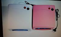 Лампа Lilly 818 розового, белого цвета (уменьшенный размер)