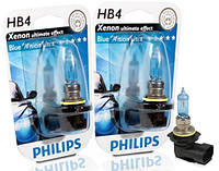 "Автомобильные галогенные лампы ""PHILIPS""(HB4)(Blue Vision Ultra)(4000K)(12V)(55W), фото 1"
