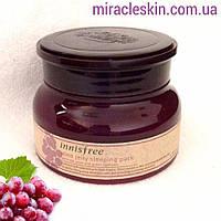 Innisfree Wine Jelly Sleeping Pack 80ml / Ночная маска с экстрактом красного вина