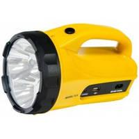 TH2294 аккум. фонарь желтый 7LED