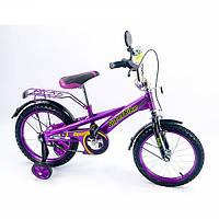 """Двухколесный велосипед Super Bike 16"""" (151603)"""