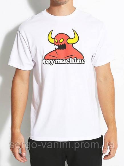Футболка с принтом Toy Machine Devil  мужская