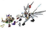 Конструктор Bela Ninja Титановый Дракон 10323, 359 деталей, фото 2