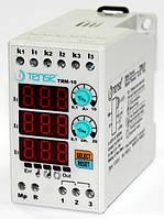 Реле тока контроля реле разгрузки ограничения тока нагрузки 3-х фазное с таймером диапазон 1-10 цена купить, фото 1
