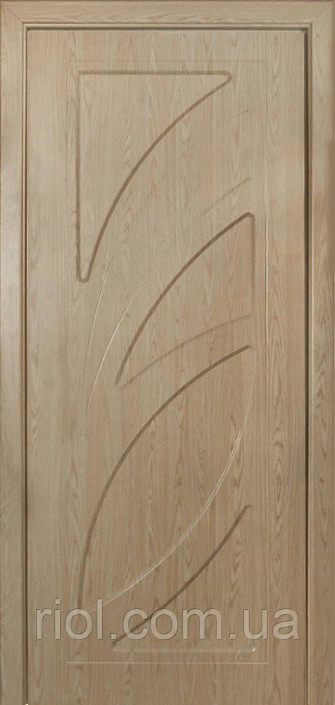 Дверь межкомнатная остекленная Пальмира