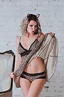 Трусики бразилиана леопард