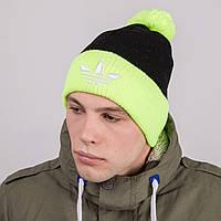 Мужская спортивная шапка с помпоном - Артикул 8779