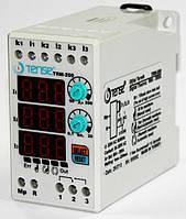 Реле струму електронне контроля обмеження струму навантаження 3-х фазное 90-200A ціна купити TENSE, фото 1