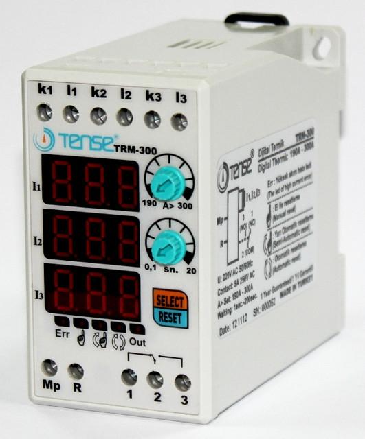 Электронное реле тока контроля ограничения тока нагрузки 3-х фазное 190-300A цена купить