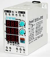 Реле контроля тока электронное максимального тока ограничения нагрузки TENSE 3х фазное 290-400A цена купить, фото 1