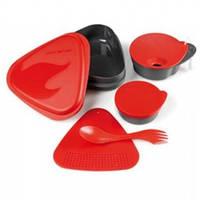 Набор посуды LIGHT MY FIRE MealKit (5 предметов), красный