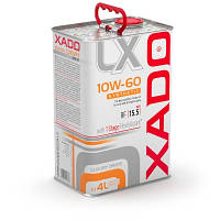 XADO Luxury Drive 10W-60 SYNTHETIC - 4л.